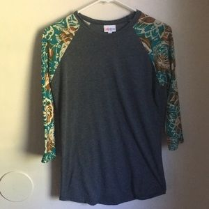 Lularoe Randy Quarter sleeve shirt